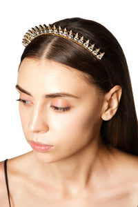 Crystal Spikes Headband
