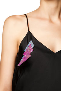 Lightning Bolt Brooch