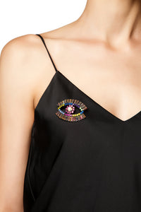 Eye Brooch - Multicolor