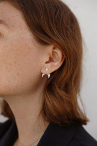 Crescent Jacket Earring