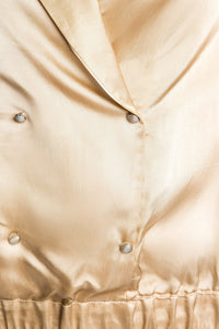 Double Breasted Blouse - Gold