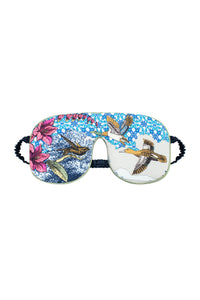 Silk Sleep Mask - Versailles Gardens Print