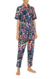 Short Sleeve Pajamas - Wildflowers Print