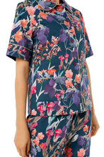 Load image into Gallery viewer, Short Sleeve Pajamas - Wildflowers Print