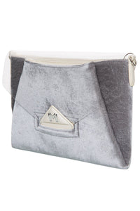 Velvet PVC Envelope Bag