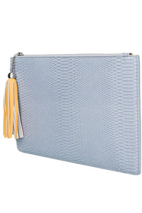 Eco Snakeskin Double Bag