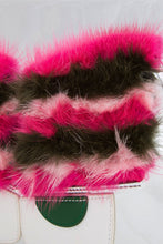 Load image into Gallery viewer, Fur V PVC Bag - Pink