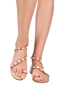 Mermaid Seashell Sandals