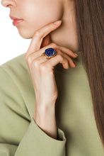 Load image into Gallery viewer, Azurite Ring - Spirituality