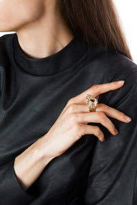 Rock Crystal Ring - Healing