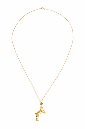Hare Necklace - Gold