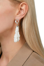Load image into Gallery viewer, Porcelain Earrings - Silver