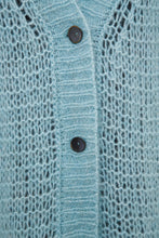 Load image into Gallery viewer, Sheer Knit Cardigan - Blue