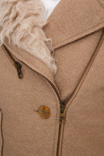Load image into Gallery viewer, Shearling Trim Jacket