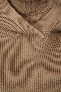 Mock Turtleneck - Brown