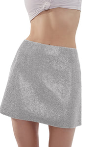 Camille Skirt - Silver