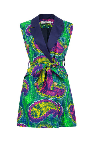 Jacqui Blazer Dress - Green