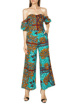 Load image into Gallery viewer, Awura Wide Leg Jumpsuit