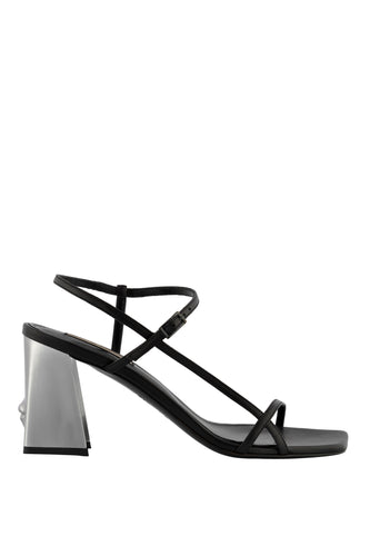 Venus Art Sandals - Black and Silver