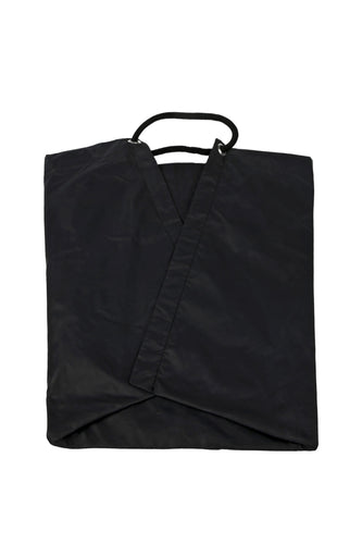Oversized Pouchy Tote - Black