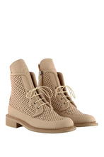 Load image into Gallery viewer, Zelos Art Boots - Beige Perforated