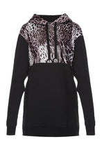 Load image into Gallery viewer, Leopard Hoodie Dress