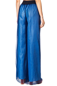 Pleated Tulle Pants