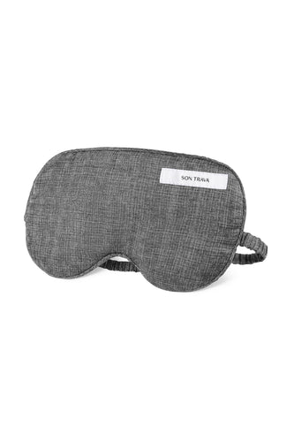 Kitty Silk Sleeping Mask - Grey