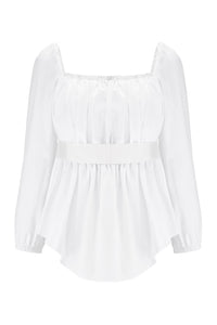 Boris Silk Trim Top