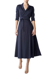 Miron Cotton Wrap Dress