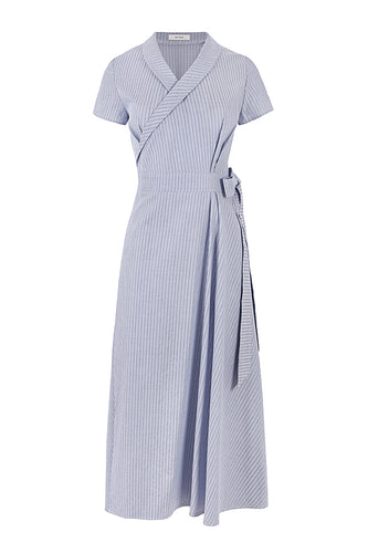 Miroslava Cotton Wrap Dress