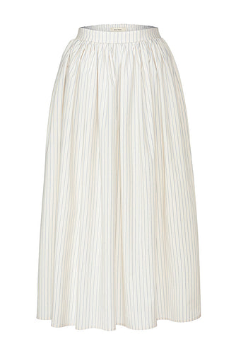 Avgustina Cotton Midi Skirt