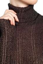 Load image into Gallery viewer, Ribbed Knit Turtleneck - Charcoal