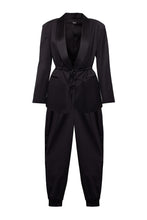 Load image into Gallery viewer, Tuxedo Wool Suit with Joggers