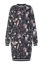 Load image into Gallery viewer, Mystical Flowers Sweatshirt Dress