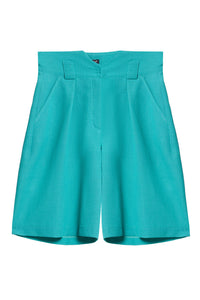 Tailored Wide Leg Shorts