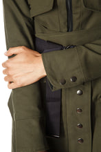 Load image into Gallery viewer, Convertible Raincoat - Olive