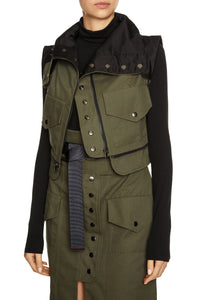 Convertible Raincoat - Olive