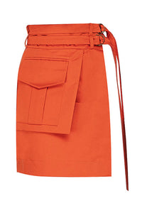 Cargo Pocket Skirt Belt