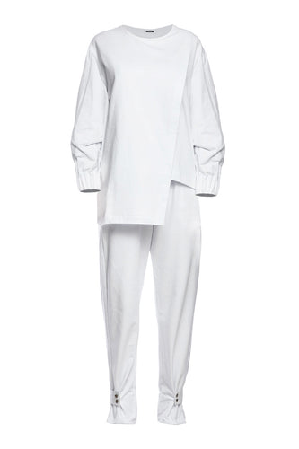 Tunic Suit - White