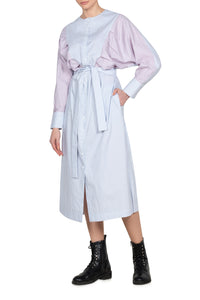Shirting Stripe Cotton Shirtdress