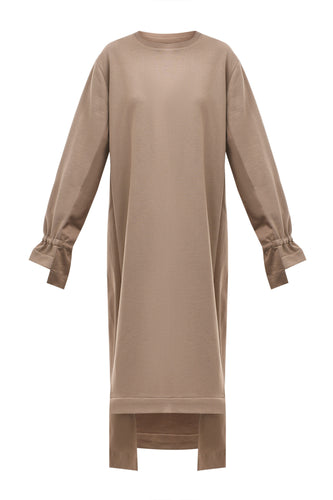 Anna Oversized Dress - Beige