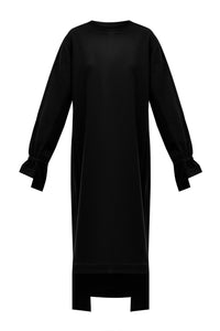 Anna Oversized Dress - Black