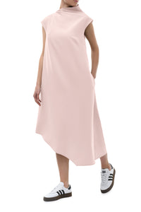 Magda Asymmetric Dress - Pink