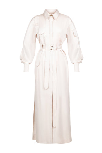 Cargo Shirtdress - Ivory