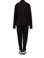 Load image into Gallery viewer, Karine Classic Shirt Suit - Black