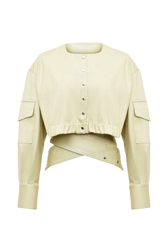 Embrace Short Jacket - Beige