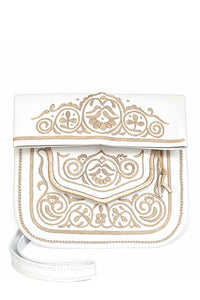 Berber Shoulder Bag - White