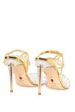Load image into Gallery viewer, PVC Slingback Sandals - Gold