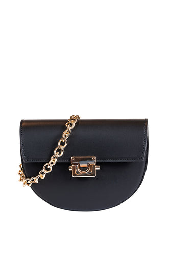 Laura Leather Shoulder Bag